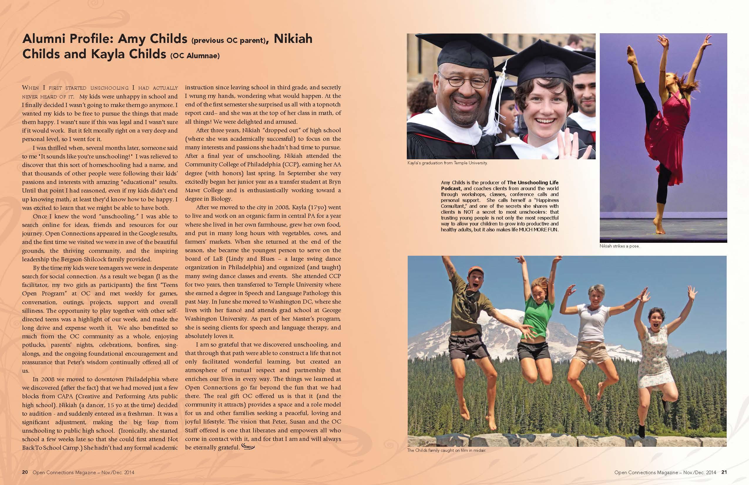 ChildsFam in OC Mag 2014